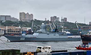 俄海军最新轻型护卫舰即将服役