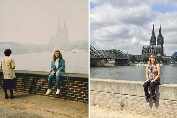 美摄影师欧洲故地重游 照片见证30年时代变迁
