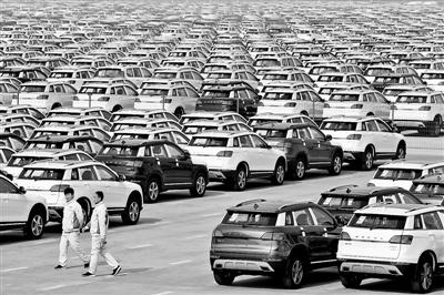 车市半年考 我国汽车产销增速未过预期线