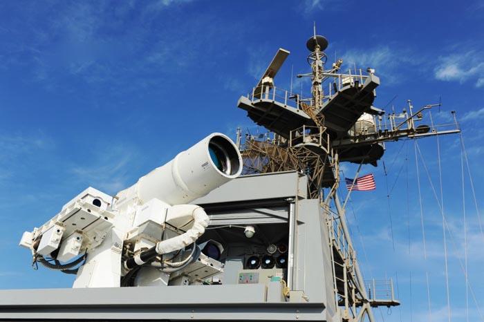 美在波斯湾秀激光炮吓唬谁 专家揭露其关键缺陷