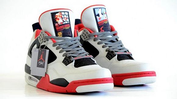 红白机主题球鞋