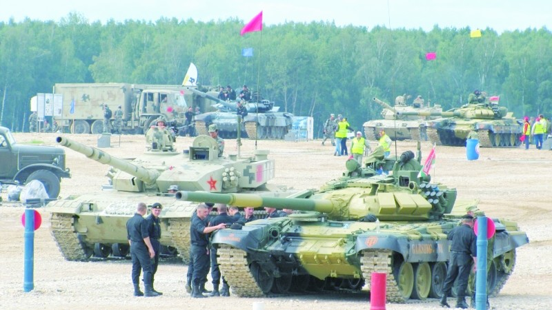 报告!坦克大赛中国战车就位 俄媒称或再创佳绩