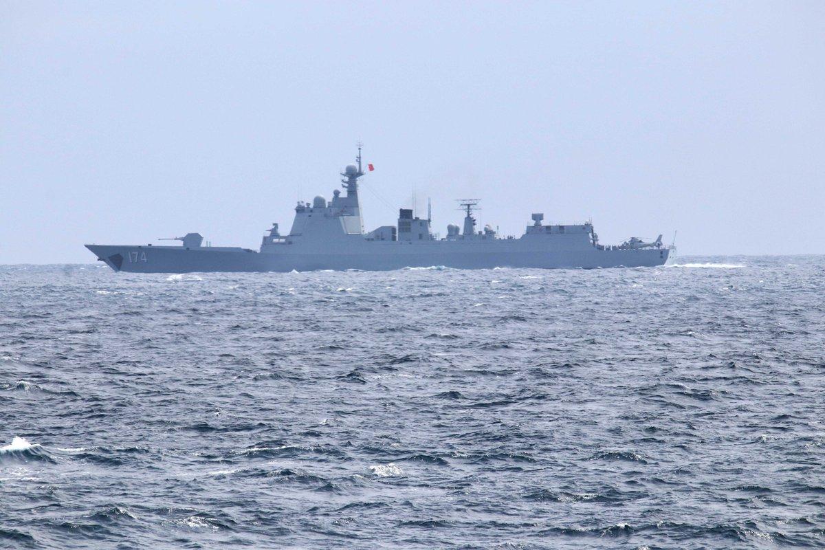 从现代级到国产052D!在波罗的海看中国海军足迹