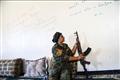 叙利亚女战士