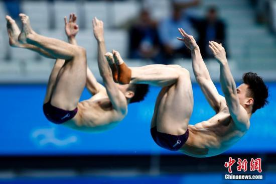 谢思埸世锦赛男子3米板封王 曹缘增难度无缘奖牌