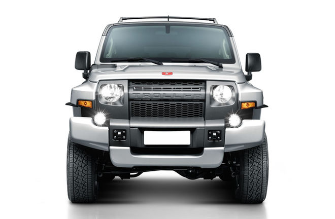 外媒:福特Bronco新车灵感将源于Troller