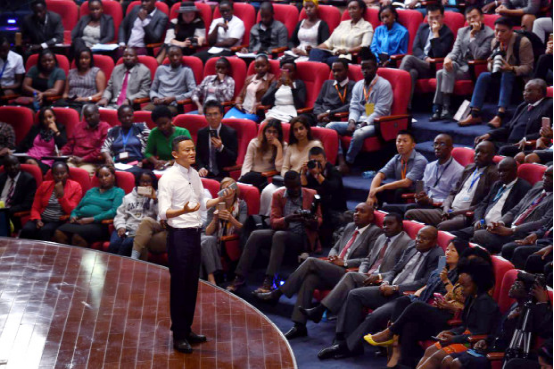 非洲青年羡慕中国 问马云支付宝是否会去肯尼亚