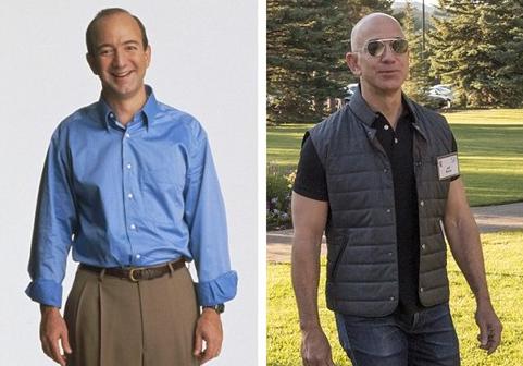 亚马逊CEO杰夫•贝佐斯:从IT怪才到肌肉型男