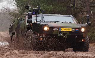 这款造型奇特装甲车荷兰制造