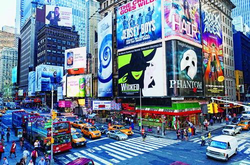 千面纽约张开双臂拥抱世界