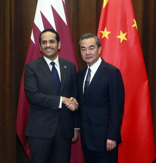 王毅会见卡塔尔外交大臣:再谈海湾危机