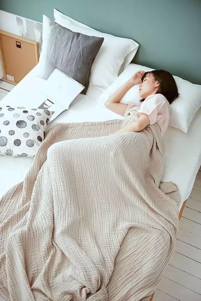 好东西 | 离不开空调又怕着凉?这条纯棉纱布做的毛巾被来救你