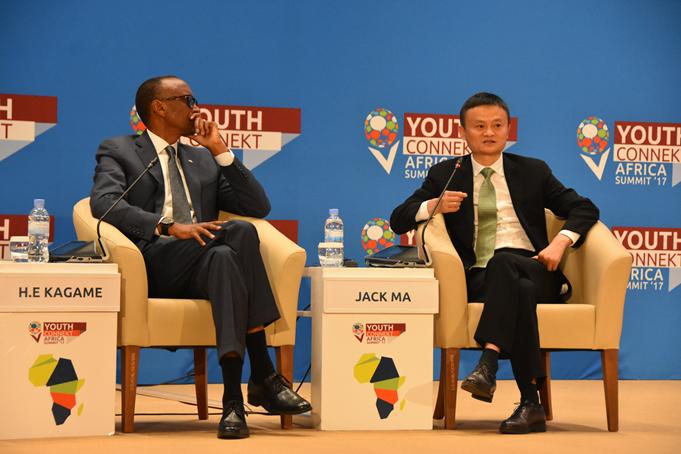 中国经验助非洲发展  马云宣布四个计划