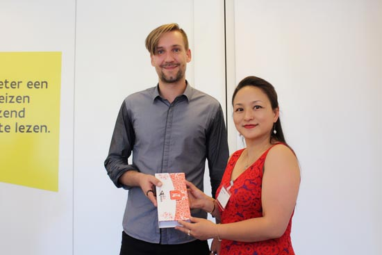 荷比卢华人旅游协会在布鲁塞尔与欧洲旅游委员会举行座谈