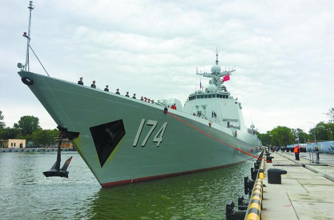中国明星舰跨三大洋 抵波罗的海开启中俄军演