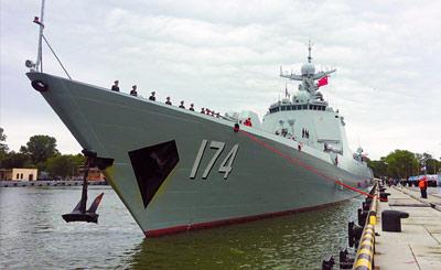 我舰队抵波罗的海开启中俄军演