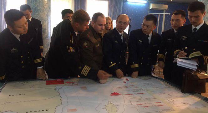 探访中俄海上联演联合指挥部