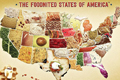 美国父子制作50州美食地图 双关命名妙趣横生