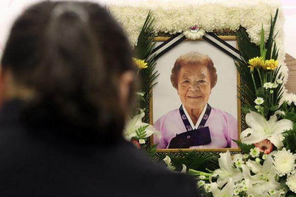 韩又一慰安妇奶奶去世 幸存者减至37人