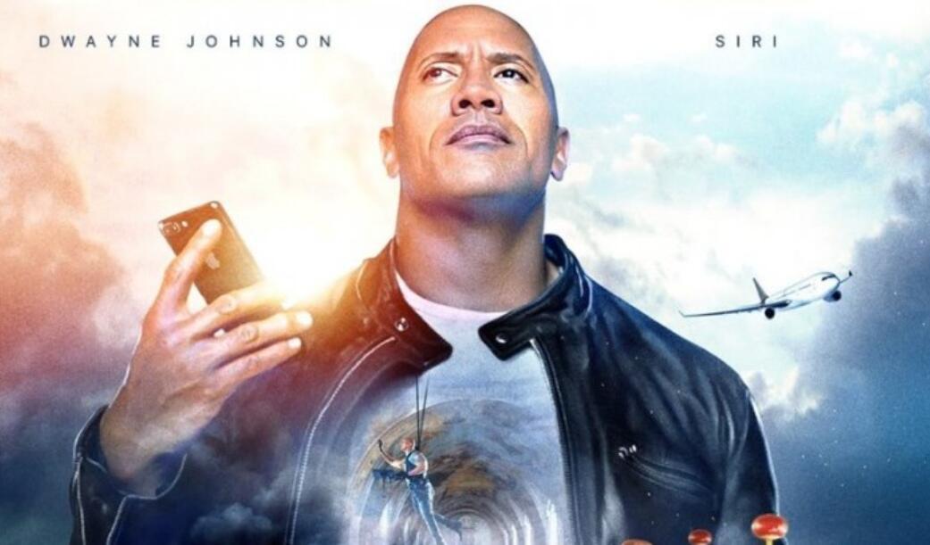 """""""巨石""""强森与苹果Siri合作拍摄了一部科幻电影"""