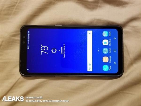 这个大屏手机不怕摔!三星S8 Active真机曝光