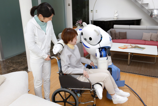 机器人理疗师亮相 有助患者恢复行走能力