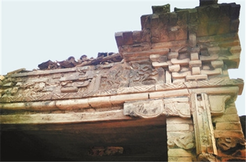 古城坡村:一砖一瓦一椽一木上的历史温度