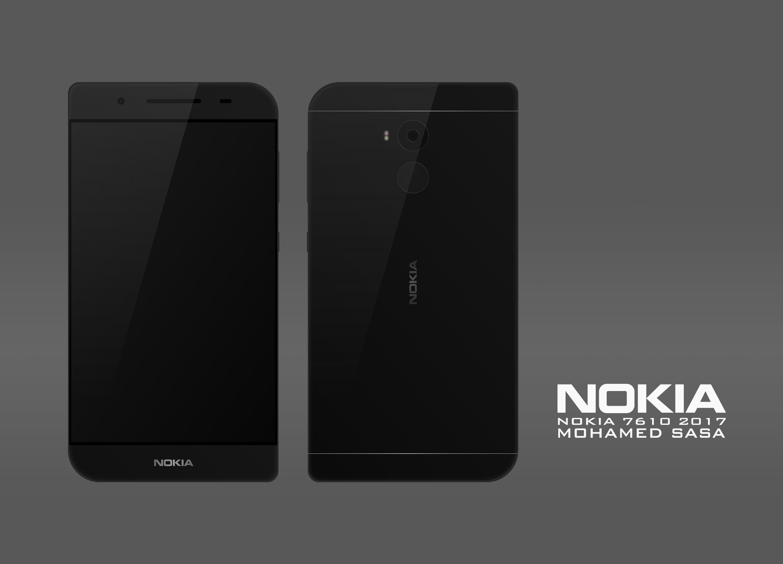 经典重现!Nokia 7610概念设计曝光