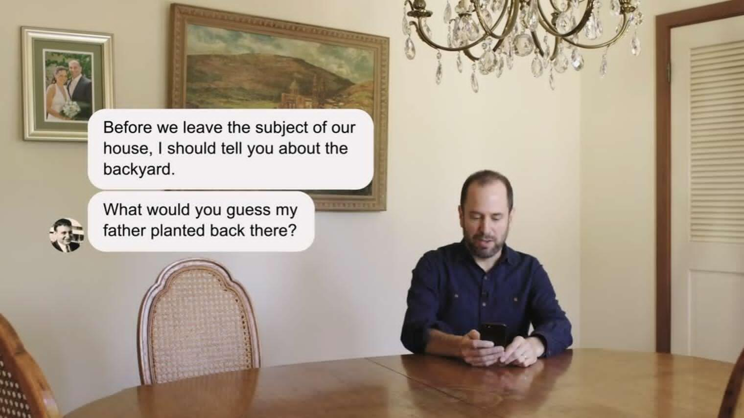 幻想成真!美记者设计聊天程序与已故父亲对话