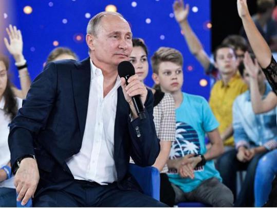 普京:我可能永远不会从总统职位退休