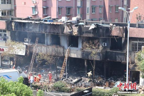 杭州餐馆燃爆事故:7名伤势较重者中6人已好转