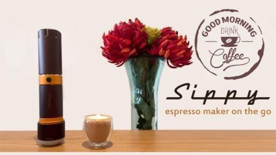 超棒的便携胶囊咖啡壶 可以随时喝浓缩咖啡