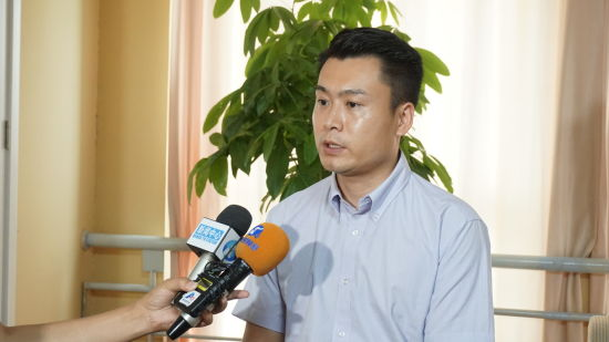 绿地中部创客天地项目负责人赵海