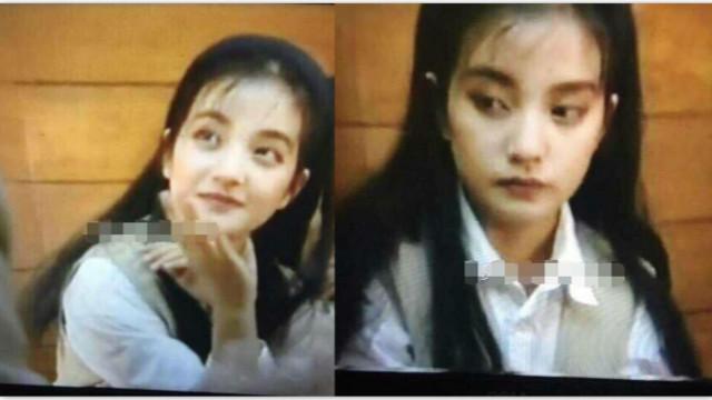 赵薇25年前跑龙套照曝光