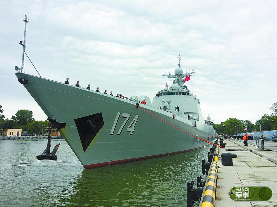 俄记者:中国军舰维护很好 军人素养也非常好