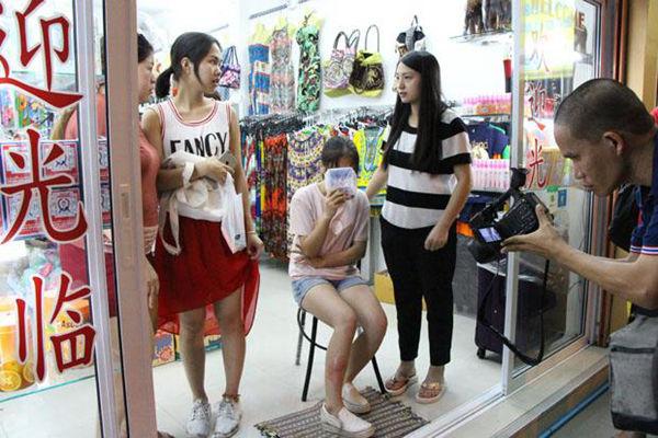中国女学生在泰国芭提雅遭抢劫 被打晕受伤
