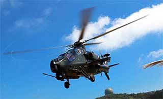 直10武装直升机编队海上低空突防
