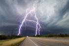 美摄影师抓拍超级雷暴