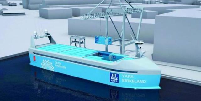 """""""海上特斯拉"""" !世界首艘无人驾驶货船明年下水"""