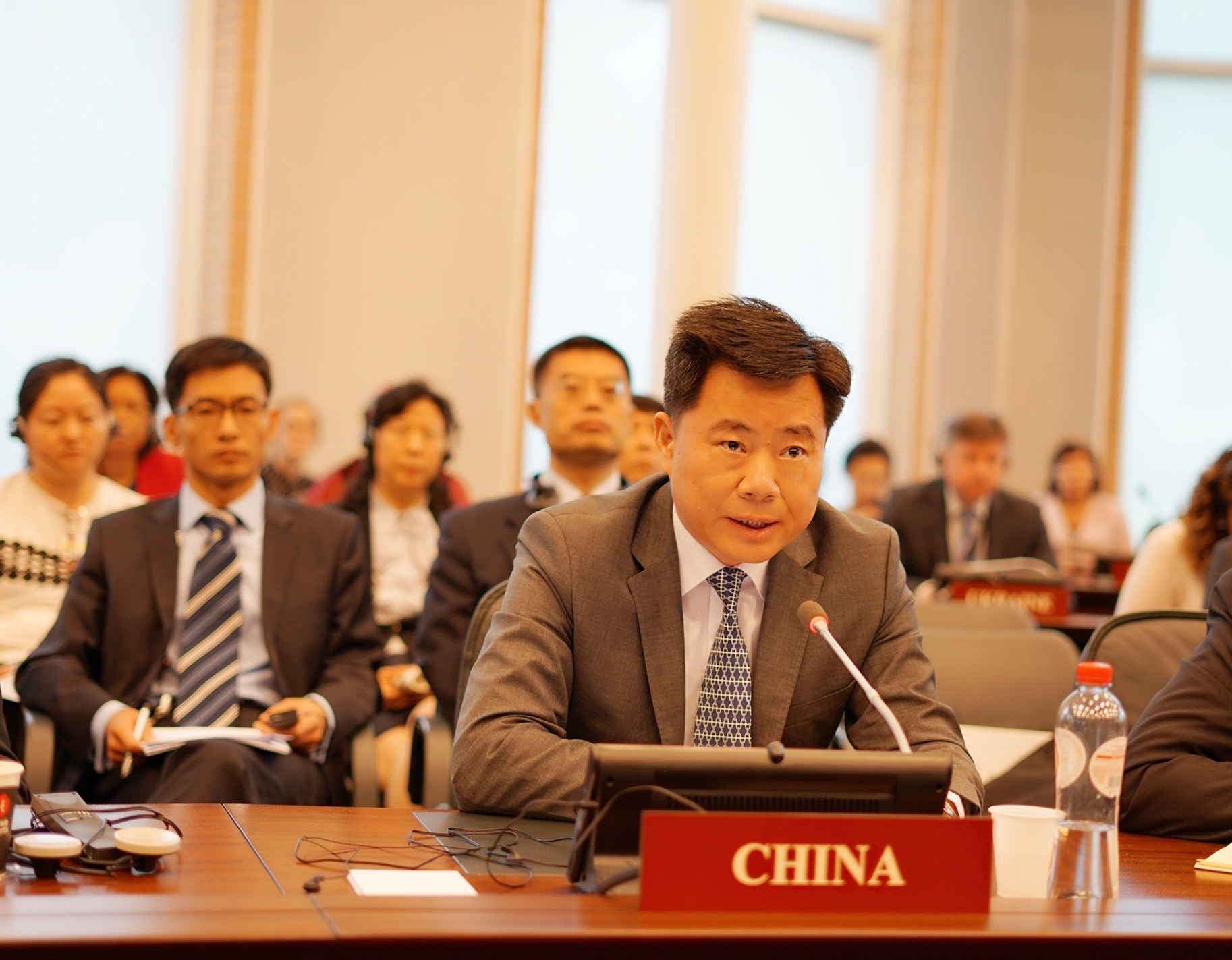 吴恳大使率团出席 禁止化学武器组织第85届执行理事会