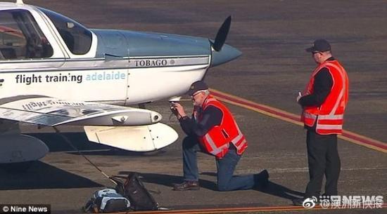 澳洲首例无人机撞飞机