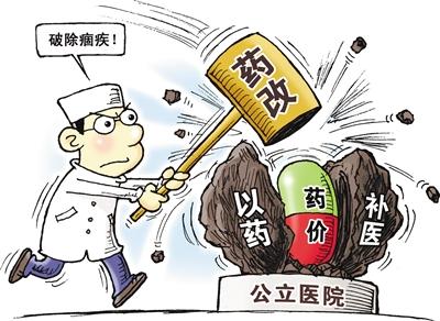 广东公立医院变革药占比降落