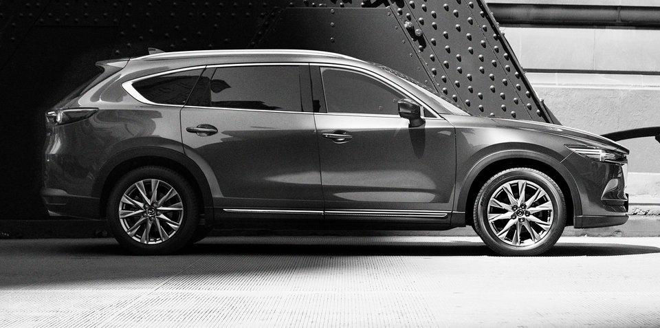 2018款马自达CX-8预告图发布 年底上市