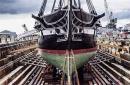 世界最古老军舰如何进行大修