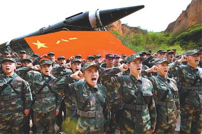 """台媒叫嚣""""武统难度大"""" 称大陆仅火箭军能远程打击"""