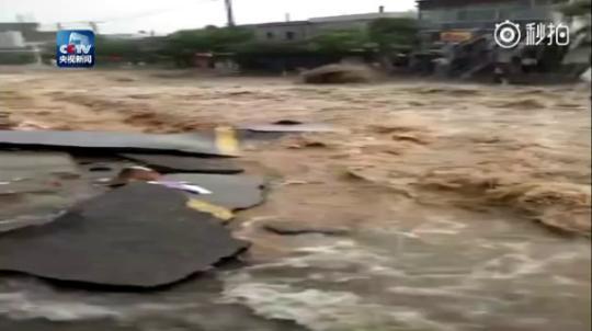 陕西绥德洪灾过后有人盗窃哄抢物资 警方严厉打击