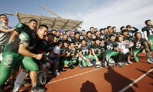 美媒:美式橄榄球正受中国青年追捧 感受美国文化