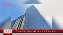 在鄂世界500强达258家 第三产业成为投资热门
