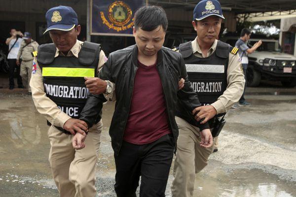 柬警方逮捕多名涉电信诈骗中国人 将遣返回国