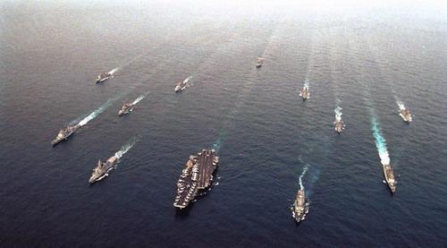 """中俄再""""躺枪""""!美专家:美须尽快扩大舰队规模以威慑中俄"""
